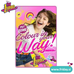 Odeja Soy Luna  'Colour in your way'