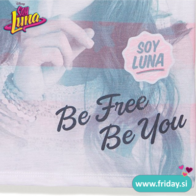 Majica Soy Luna 'Be free Be You'