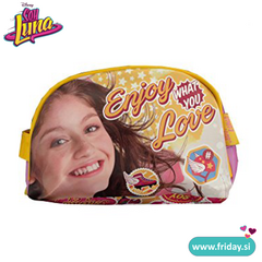Toaletna torbica Soy Luna 'Enjoy what you love'