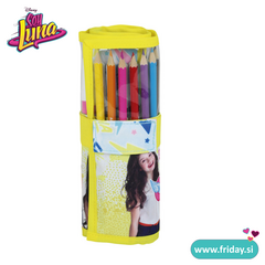 Barvice in flumastri Soy Luna v roll-up peresnici 'Faces' 28 kos