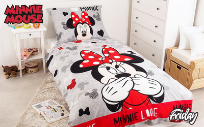 Posteljnina Minnie 'Mini Love'