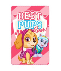Odeja Paw Patrol 'Best Pups Ever'